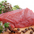 Raw beef meat — Photo