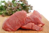 生牛肉肉 — 图库照片