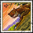 GUINEA - CIRCA 1975 Leopard - Stock Photo