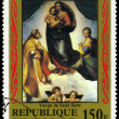 Stock Photo: NIGER - CIRC1983 Sistine Madonna