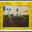 Royalty-Free Stock Photo: CUBA - CIRCA 1988 Wagons