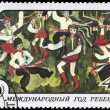 Постер, плакат: USSR CIRCA 1979 Dances