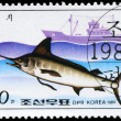 NORTH KOREA - CIRCA 1984 Marlin — Stock Photo