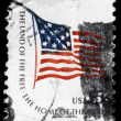 USA - ca 1978 fort mchenry flagga — Stockfoto