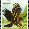 CUBA - CIRCA 1982 Eagle — Stock Photo
