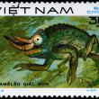 VIETNAM - CIRCA 1983 Chameleon — Stock Photo