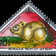 MONGOLIA - CIRCA 1983 Pika - Stock Photo