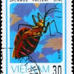 Постер, плакат: VIETNAM CIRCA 1982 Assassin Bug