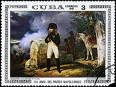 CUBA - CIRCA 1981 Napoleon with Landscape — Stock Photo