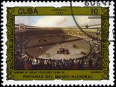 CUBA - CIRCA 1986 Bullfight — Stock Photo