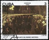 CUBA - CIRCA 1982 Procession in Brittany — Stock Photo