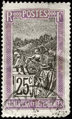 MADAGASCAR - CIRCA 1922 Sedan Chair — Stock Photo