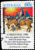 AUSTRALIA - CIRCA 1981 Noeltime — Stock Photo