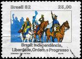 BRAZIL - CIRCA 1982 National Week — Stock Photo