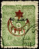 TURKEY - CIRCA 1890 Arms and Tughra — Stock Photo