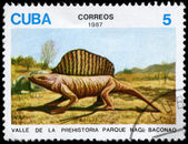 キューバ - 1987年恐竜年頃 — ストック写真