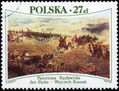 Polónia - 1985 batalha de raclawice, cerca de — Fotografia Stock