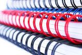 Copybook stack — Stock Photo