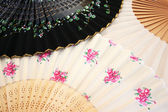 Colorful fans — Stockfoto