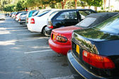 Cars in parking — Stock Photo