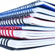 Copybook stack - Stock Photo