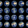 Foto Stock: Earth Globes collection