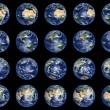 Earth Globes collection — Stockfoto