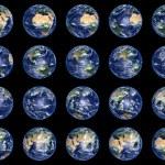 colección de globos de tierra — Foto de Stock