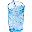 Glass of water — Stock Photo #5733693