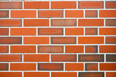 Red brick wall — Photo