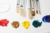 Artist tools — Stock Photo