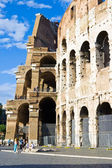 Wall of Roman Colosseum — Stock Photo