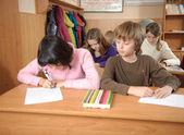 Oszustwo w szkole — Zdjęcie stockowe