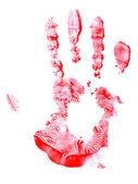 Handprint — Stock Photo