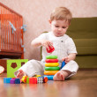 Stock Photo: Playtime in playroom