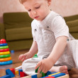 Playtime in playroom — Stock Photo