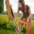 Open air painting — Stock Photo #6448872