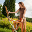 Open air painting — Stock Photo #6448877