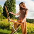 Open air painting — Stock Photo #6448883