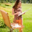 Open air painting — Stock Photo #6448890