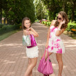 Shopping girls — Stock Photo #6449229