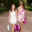 Shopping girls — Stock Photo #6449243