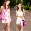Shopping girls — Stock Photo #6449248