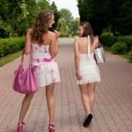 Shopping girls — Stock Photo #6449252