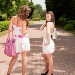 Shopping girls — Stock Photo #6449258