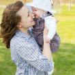 Mutter und baby — Stockfoto