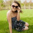 Girl in sunglasses — Stock Photo #6450403