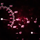 Abstract speedometer and tachometer — Stock Photo