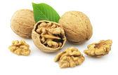 Dried walnuts — Stock Photo