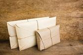 Pile parcel wrapped — Photo